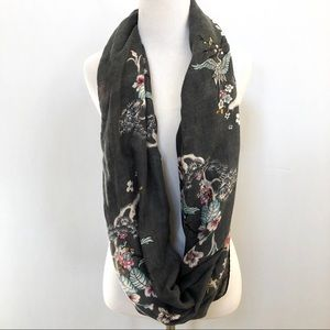 H&M Japan inspired infinity scarf cherry blossoms